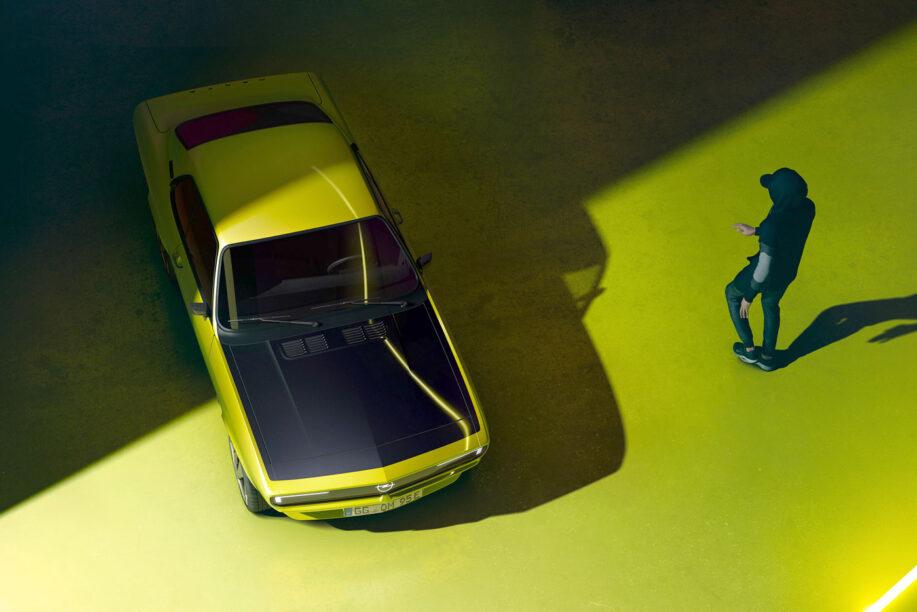 elektrische Opel Manta