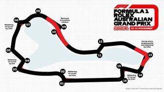 Albert Lake Park Street Circuit Melbourne tweaks 2021