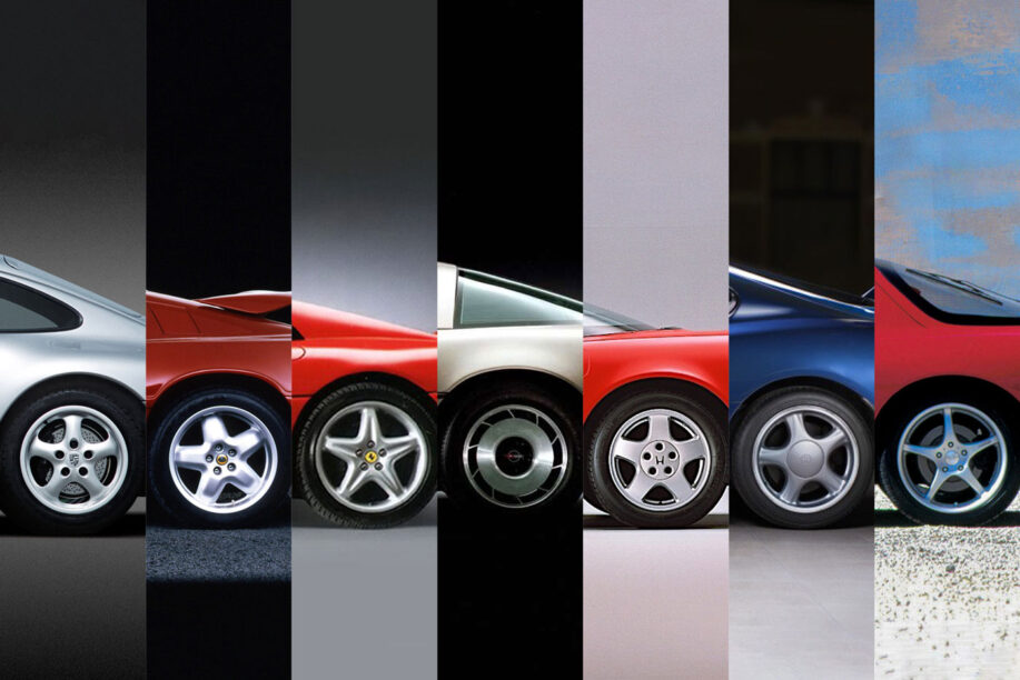 jaren 90 sportwagens