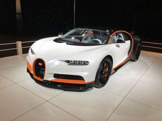 Bugatti Chiron Sport Autosalon van Brussel